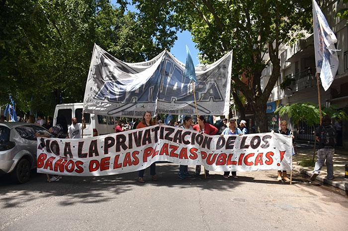 MARCHAS Y CORTES REFORMA PREVISIONAL  (15) baños publicos atahualpa