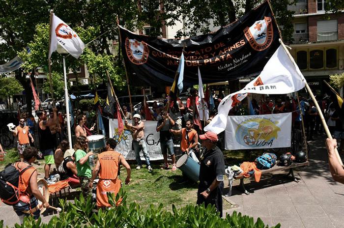 Guardavidas: tras las protestas en el Municipio, hubo acuerdo salarial