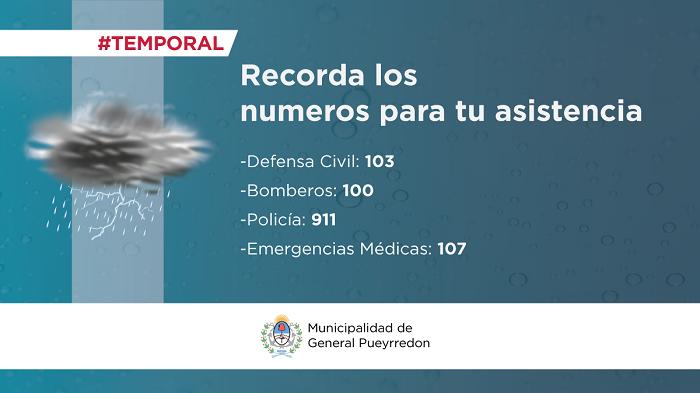Prensa MGP - Defensa Civil tormenta