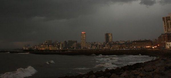 Alerta meteorológico por tormenta, actividad eléctrica y granizo