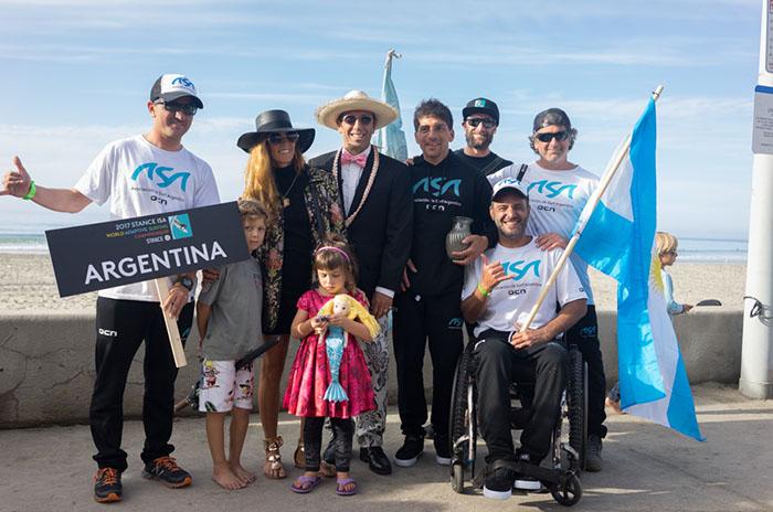 Surf adaptado: Argentina finalizó el mundial entre los mejores 15