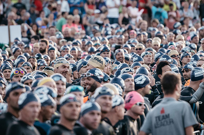 Mar del Plata vivió el Ironman, la competencia más exigente