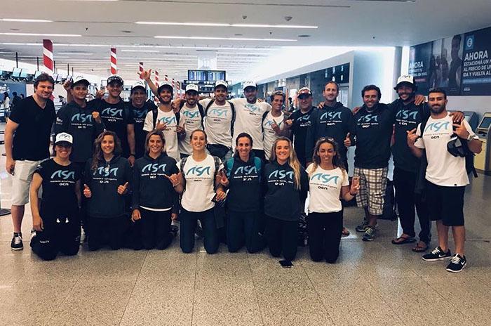 Surf: el equipo nacional compite en el Panamericano