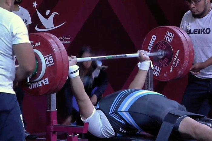 La Selección de pesas, dos años sin un lugar para entrenar