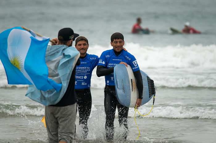 Pablo Martínez sueña con viajar a su tercer mundial de surf adaptado