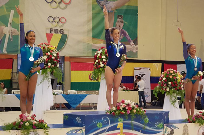 Ayelén Tarabini, múltiple medallista en Bolivia