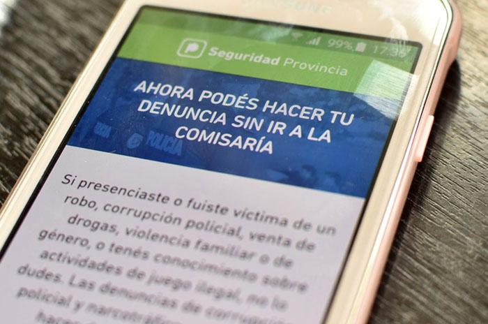 APLICACION VIOLENCIA DE GENERO SEGURIDAD PROVINCIA