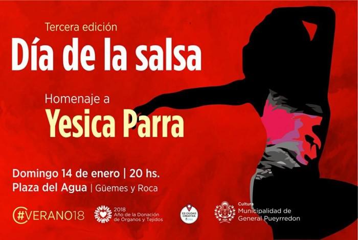 Día de la Salsa flyer