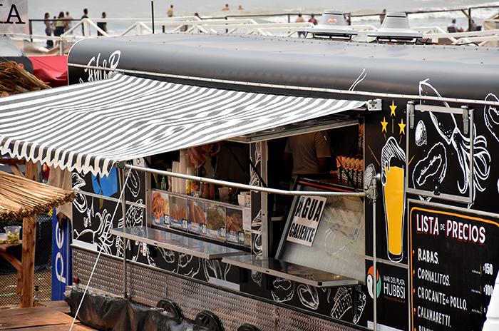 Piden informes sobre el funcionamiento de los food trucks y choripaneros