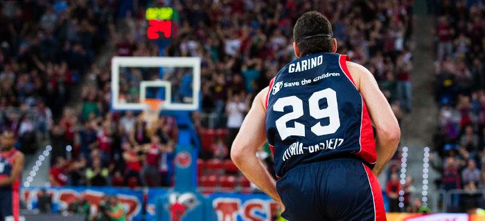 Baskonia, con Garino y Vildoza, clasificado para la Copa del Rey