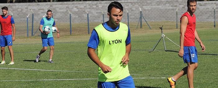 Leonardo Areal ya se entrena en Alvarado