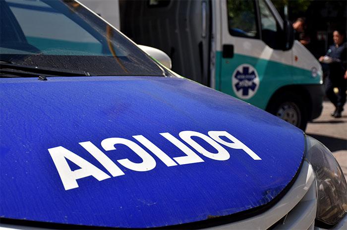 Violento choque de motos: cinco personas heridas