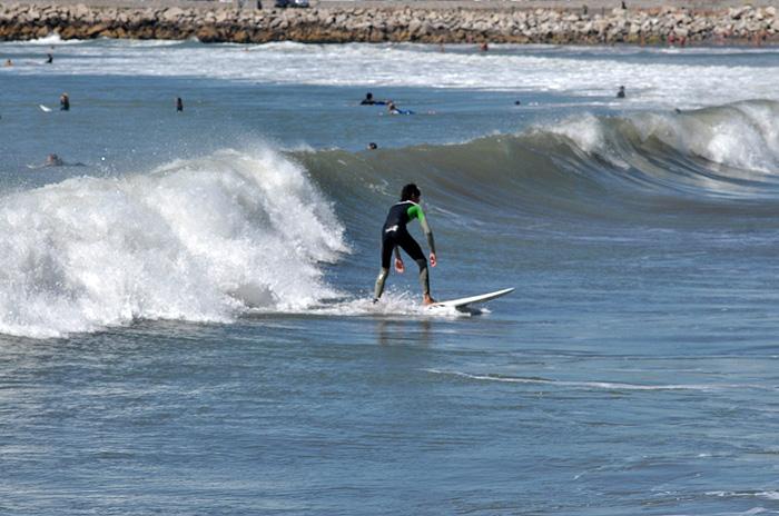 Comenzó la segunda fecha del Argentina Surf Tour