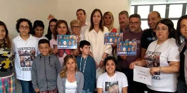 Tras los reclamos, familiares del Repunte fueron recibidos por Vidal