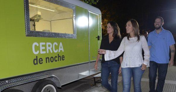 Situación de calle: Vidal fue a una unidad móvil en Plaza Rocha