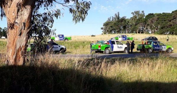 Volcó un móvil del REBA en la Ruta 226: un muerto y tres policías heridos