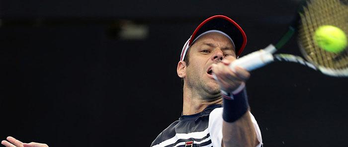 Horacio Zeballos, en el dobles del Abierto de Australia