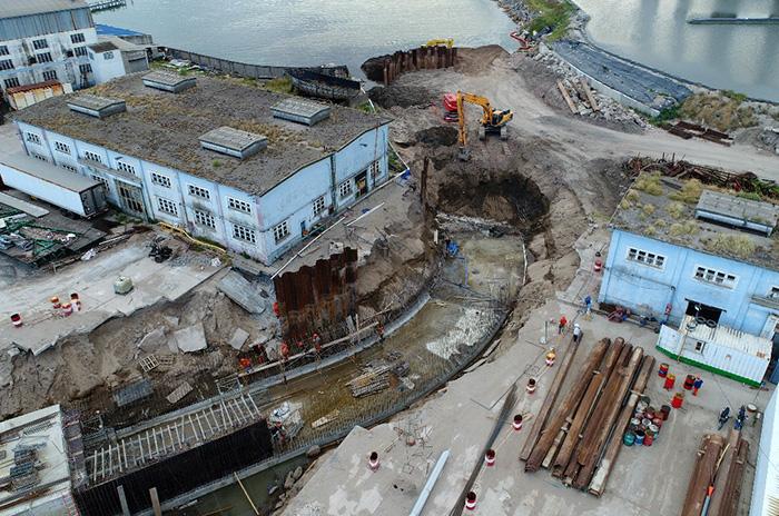 Arroyo del Barco: avanzan las obras para evitar inundaciones