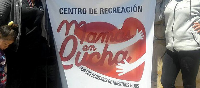 """Mamás en lucha abrió su espacio recreativo: """"No existe algo así"""""""