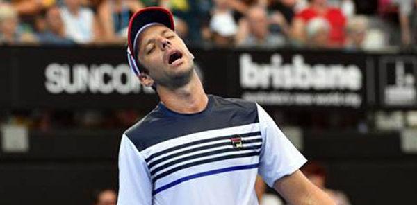 Zeballos, eliminado de Auckland, ya tiene rival en el Australian Open