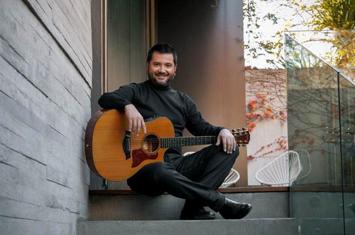 Jorge Rojas, en un concierto con lo mejor de su música