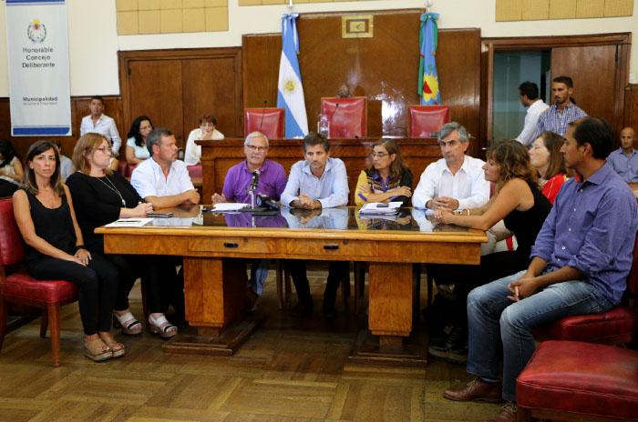 """""""Se ha hecho una negociación a espaldas del Concejo Deliberante"""""""