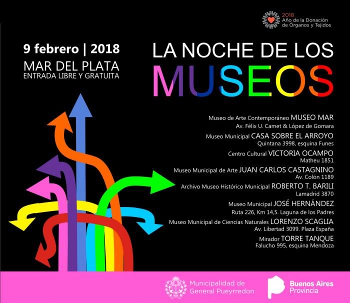 Placa MGP - La noche de los Museos