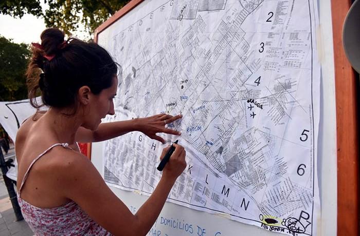 RONDA MADRES DE PLAZA DE MAYO – MAPA DE LA IMPUNIDAD (3)