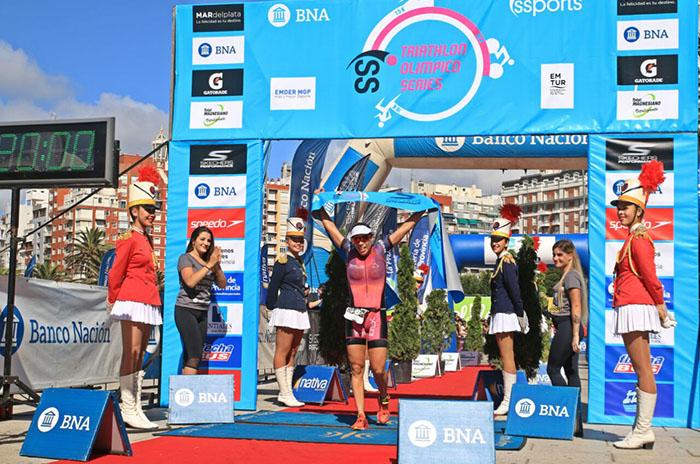 Palacio Balena y Morandini se quedaron con el Triatlón Olímpico