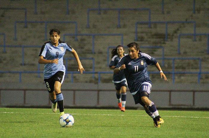affeba prensa bernardo rolon argentina uruguay futbol femenino sub 17
