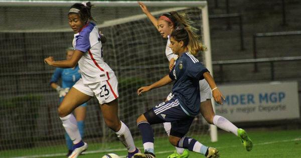 Fútbol femenino: cuadrangular internacional sub 17 en el Minella