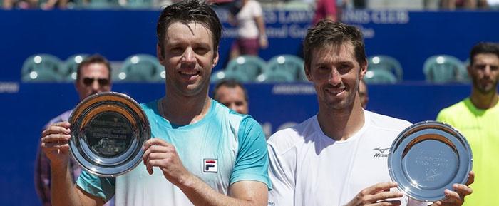 Zeballos volvió a gritar campeón en el dobles de Buenos Aires