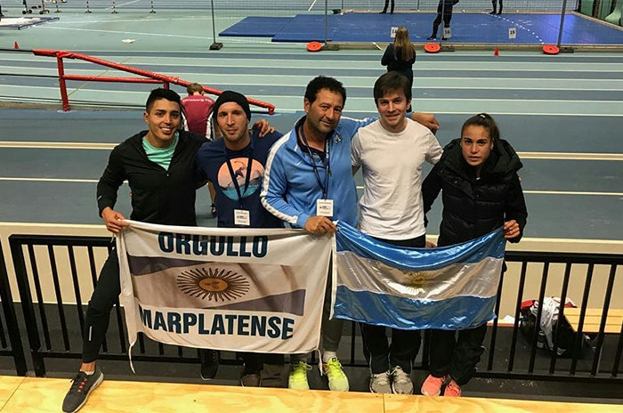Atletismo: Casetta y Caracassis sumaron rodaje en Noruega