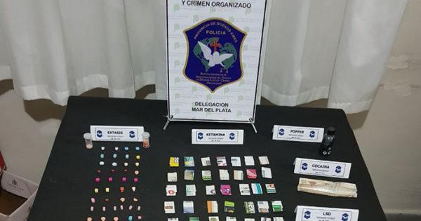 Fiestas electrónicas: un dealer venezolano detenido