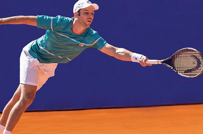 Tenis: firme debut de Horacio Zeballos en el Masters de Roma
