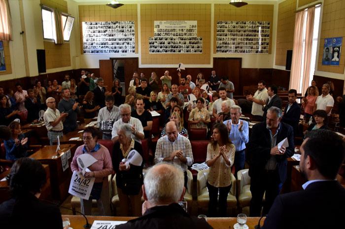 Día de la Memoria: la carta de Arroyo en la sesión especial