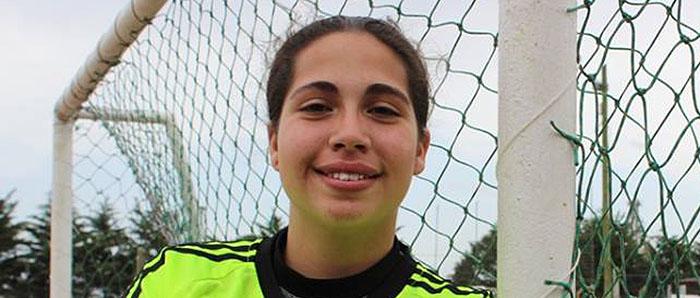 Brenda Pereira jugará con Argentina el Sudamericano Sub 17