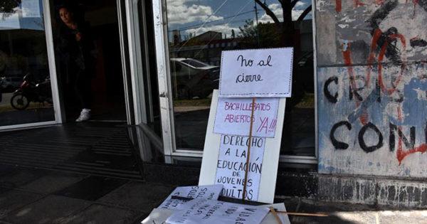 Otro conflicto en Educación: denuncian cierre de bachilleratos