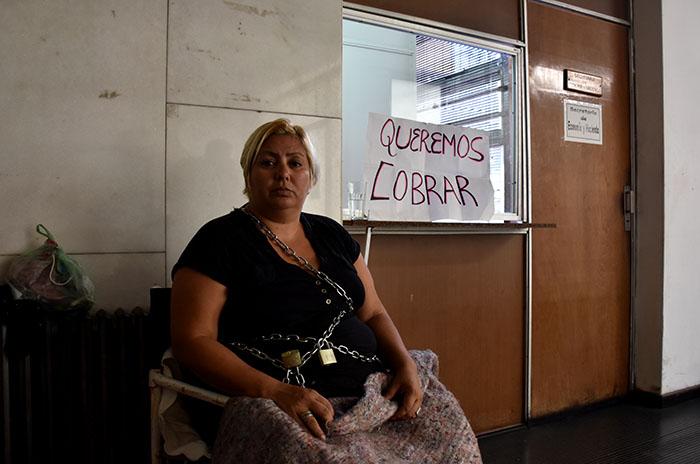 """Sigue encadenada por un pago: """"Mourelle desprecia a las mujeres"""""""