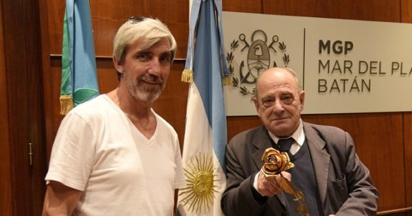 """Julio Aro, tras el reconocimiento: """"El logro es de todos"""""""