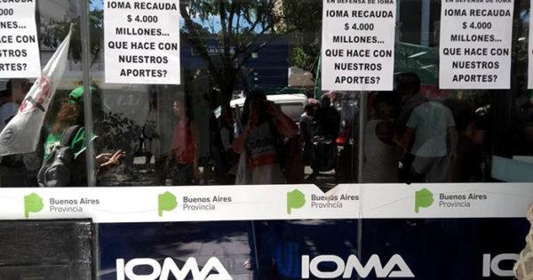 IOMA: pasan los días y sigue el conflicto por la falta de pago