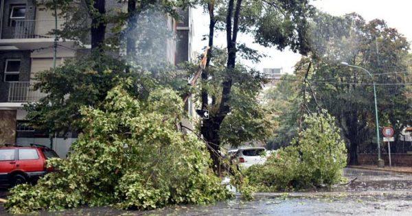 Miramar y zona: rige alerta meteorológico por fuertes tormentas eléctricas