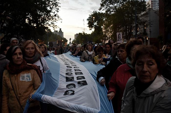 Fuerzas Armadas: concentración contra las reformas de Macri