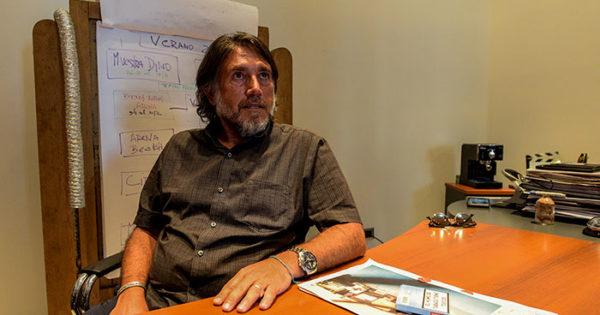 Pablo Baldini chocó con su moto y fue hospitalizado: no tenía seguro