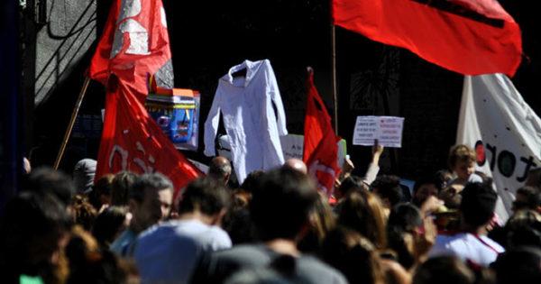 Conflicto docente: en la previa de la marcha federal, un carpetazo