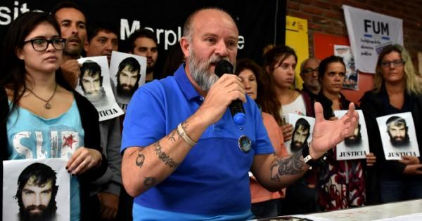 El homenaje del Indio Solari a Santiago Maldonado
