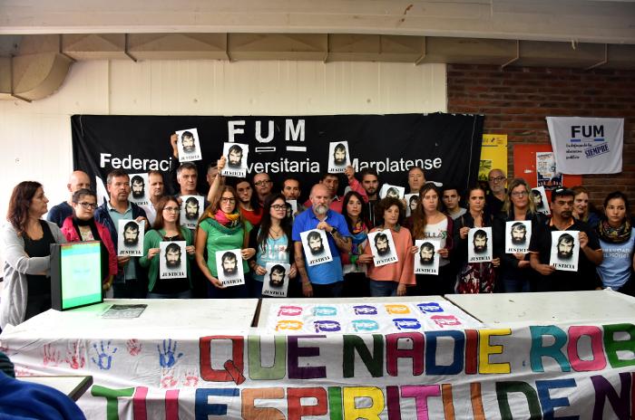 El pedido de justicia, en la calles marplatenses — Santiago Maldonado