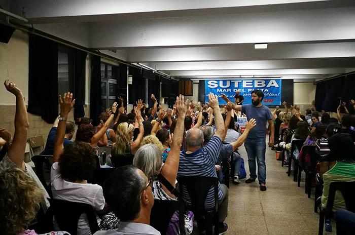 Docentes: desde Mar del Plata proponen 48 horas de paro