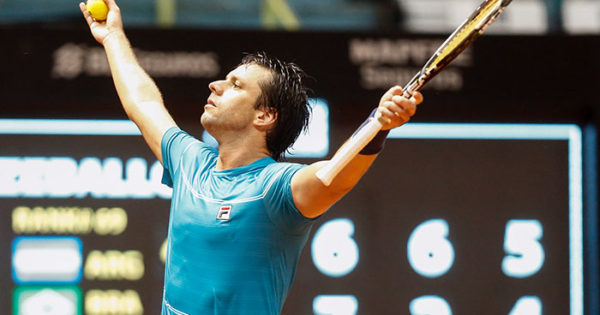 Horacio Zeballos se metió en las semifinales del Brasil Open