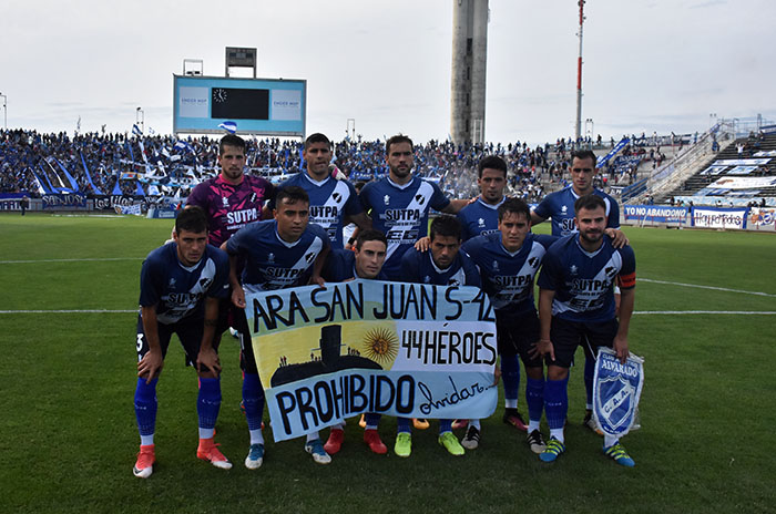 Alvarado lleva su ilusión a Chaco